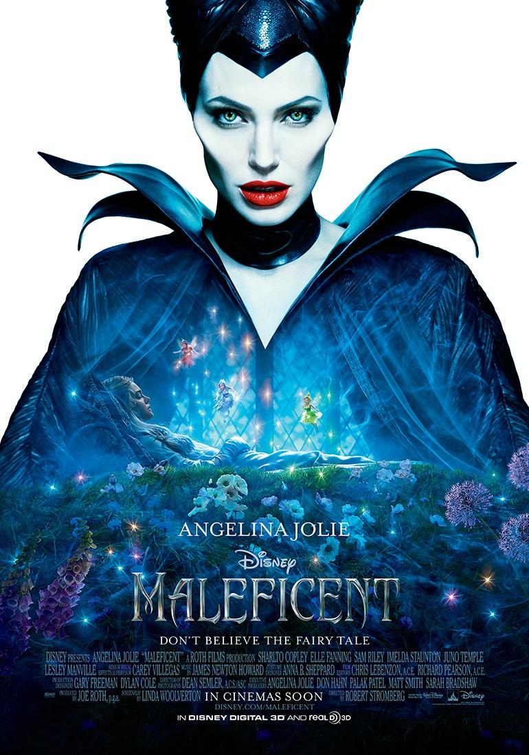 Maleficent - amazing movie poster design