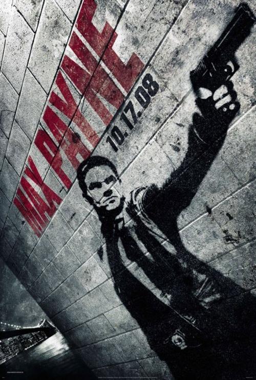 Max Payne - creative movie poster design