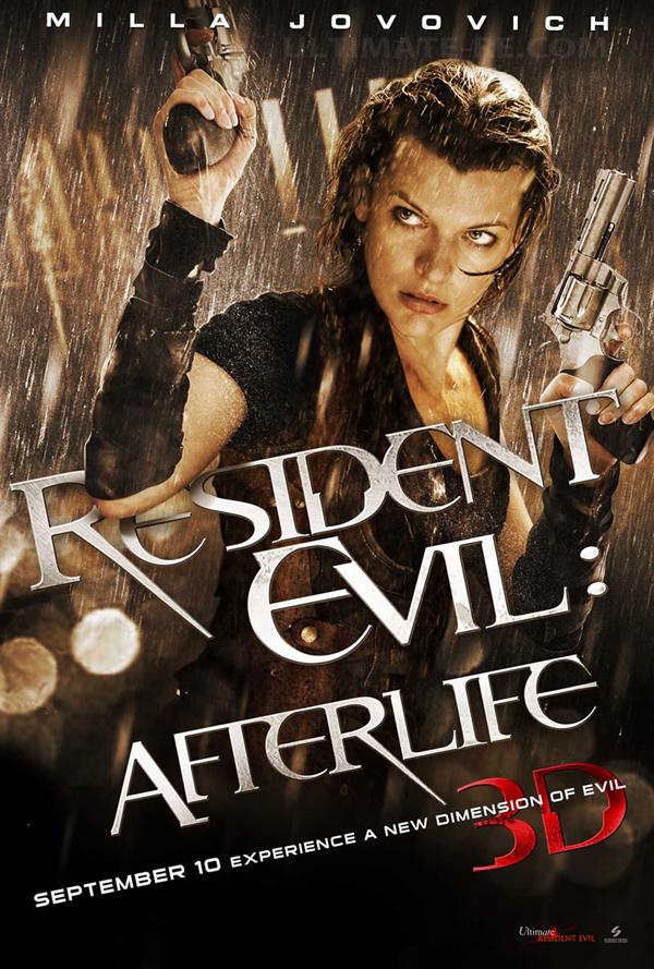 Resident Evil After Life 3D - inspiring movie poster