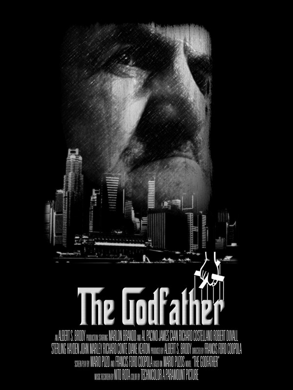 The Godfather - best move poster