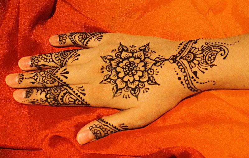 Floral Henna Designs 2