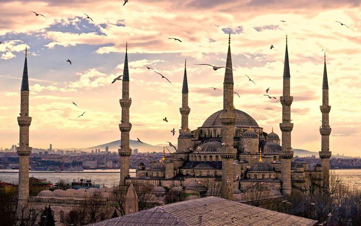 Turkey Istanbul bosphorus mosque