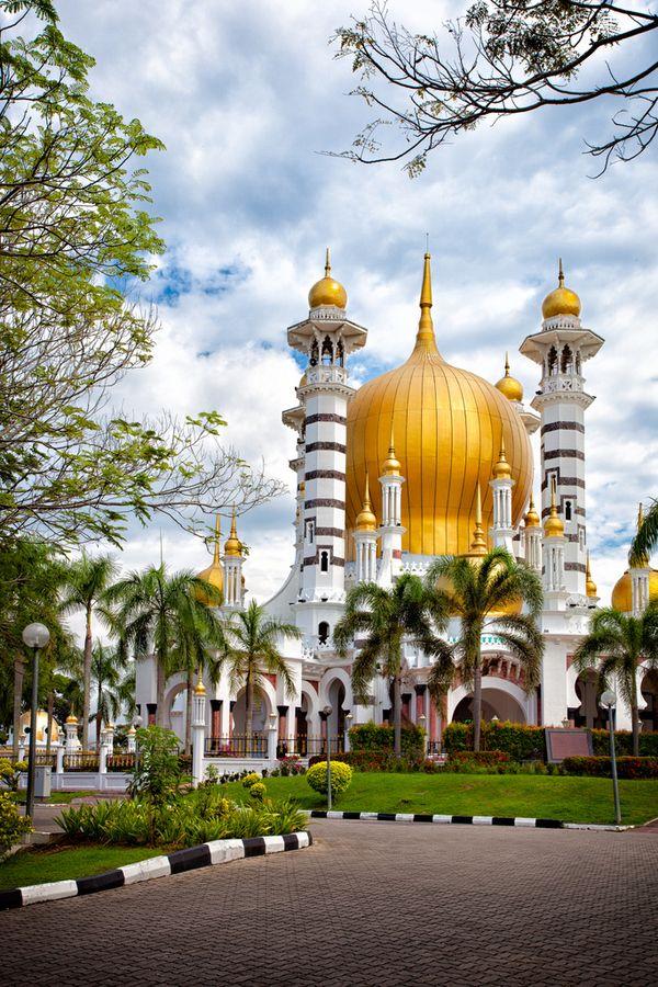 Ubudiah Mosque Kuala Kangsar, Malaysia