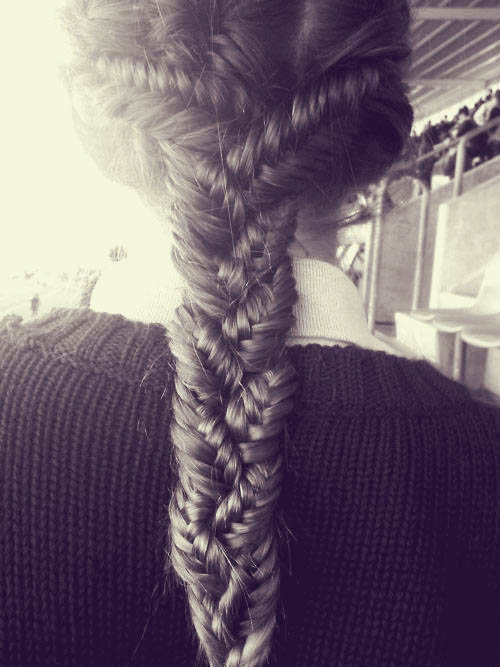 braided fishtail
