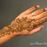 floral mehndi designs for hands 1