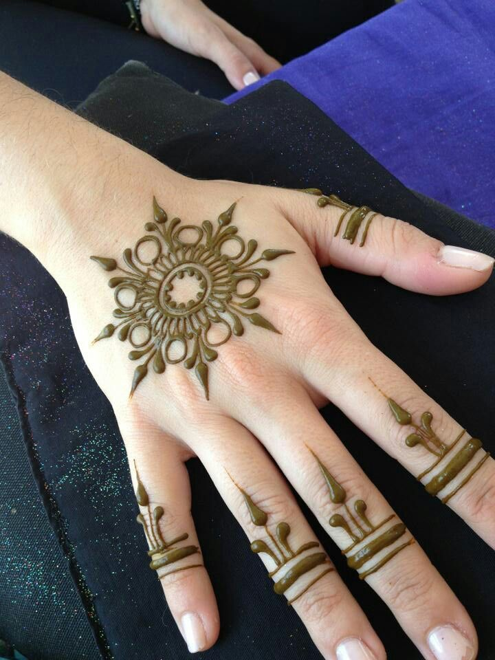 Flower Mehndi Designs For Back Hands : Latest back hand mehndi design ideas for eid