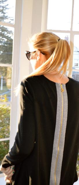 long blonde ponytail