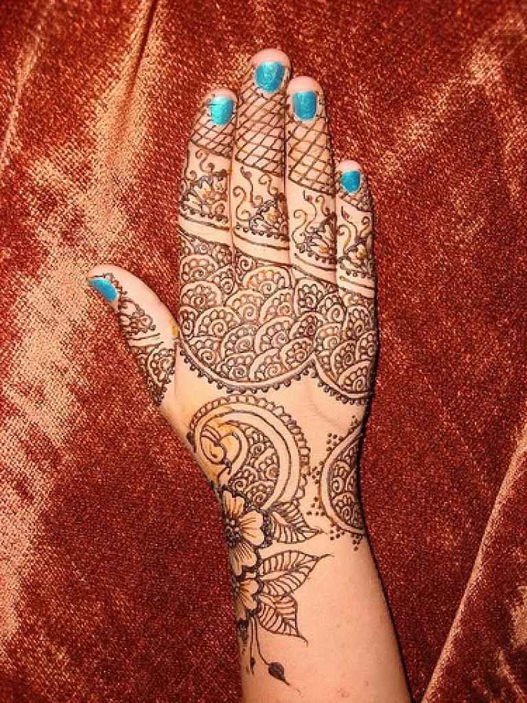 Mehndi Designs Latest Back Hand : Latest back hand mehndi design ideas for eid