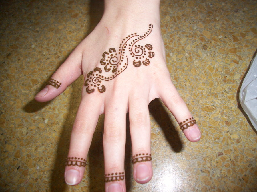 simple and easy mehndi design for 2015