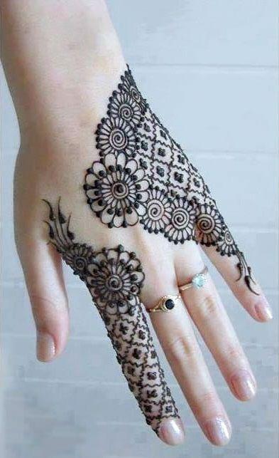 Eid Ul Fitr Mehndi Designs For Hands