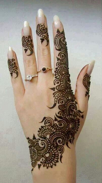 Mehndi Designs For Hands Eid : Best mehndi designs for eid ul fitr