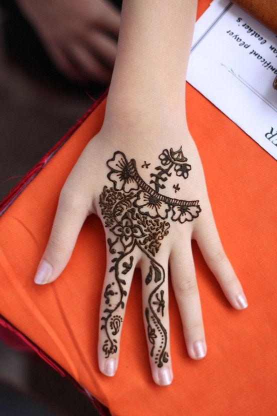 Mehndi Designs For Hands Eid : Latest  best new mehndi designs for girls eid ul