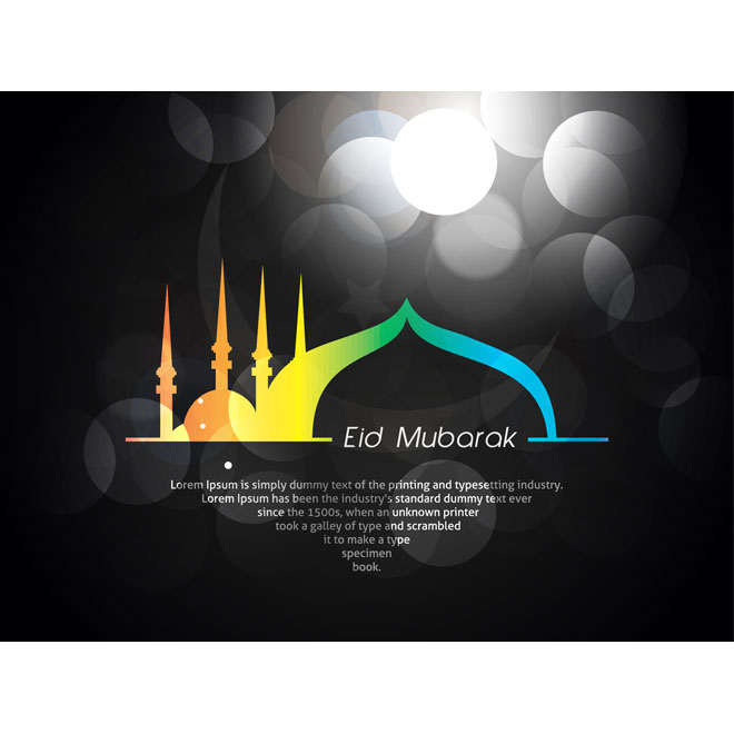 eid mubarak card designs