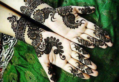 mehndi designs for eid ul fitr 2015