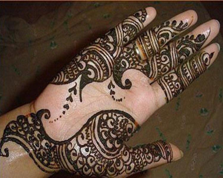 arabic henna designs for girls