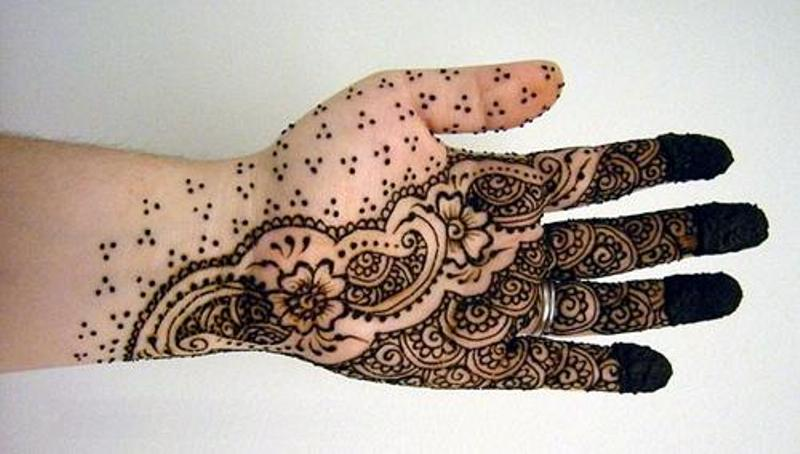 Mehndi Designs Arabic Simple And Easy : Beautiful arabic henna mehndi designs for girls hands