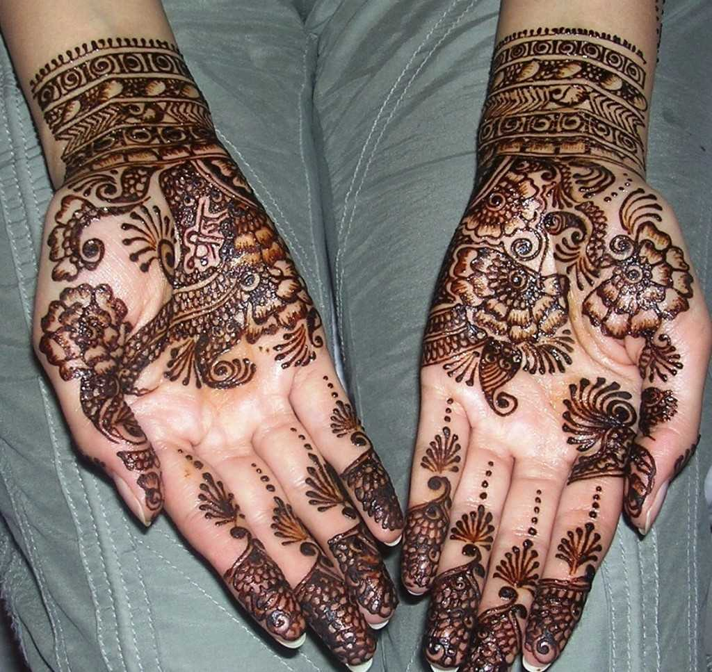 Henna Mehndi On Hand : Beautiful arabic henna mehndi designs for girls hands