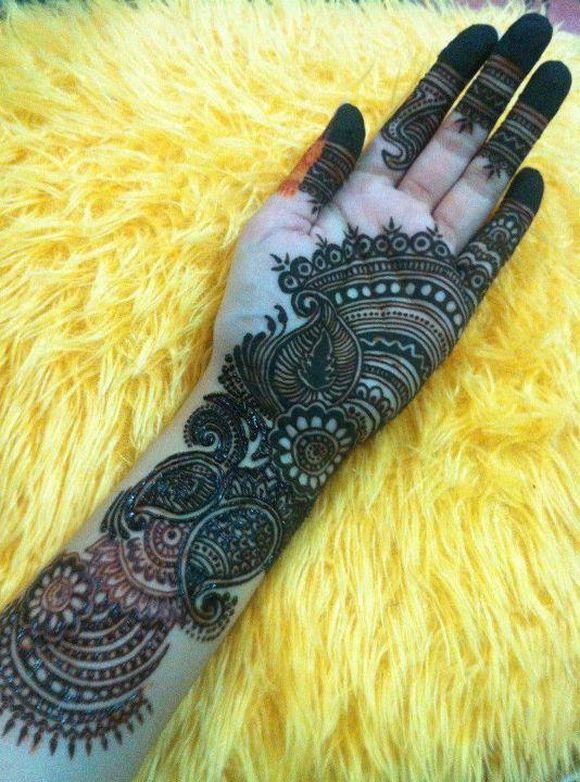 30 Beautiful Arabic HennaMehndi Designs For Girls Hands