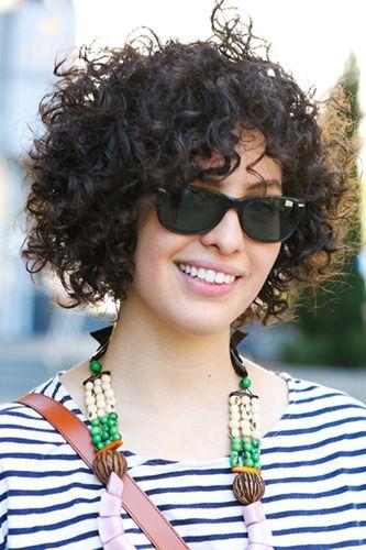 short curly curls