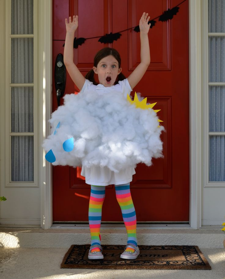 Cloudy Girl Halloween Costume