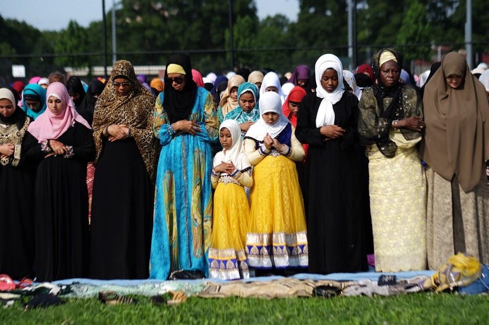 Eid Al Fitr Prayer Prospect Park Brooklyn borough New York
