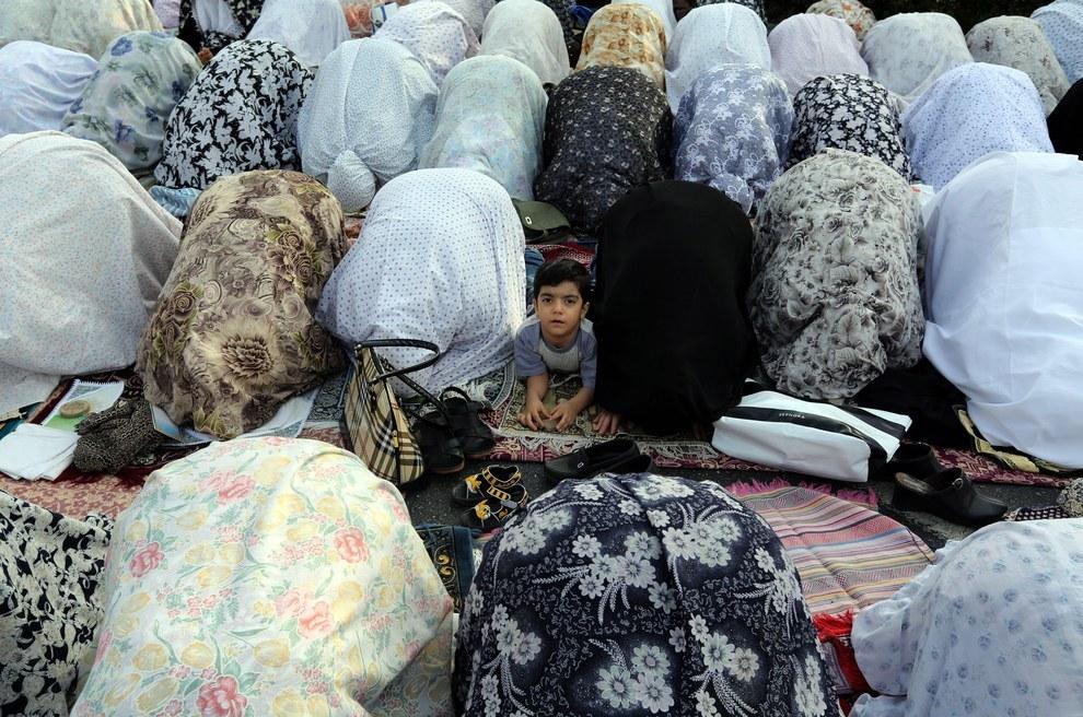 Eid Al-Fitr Prayers Tehran Iran