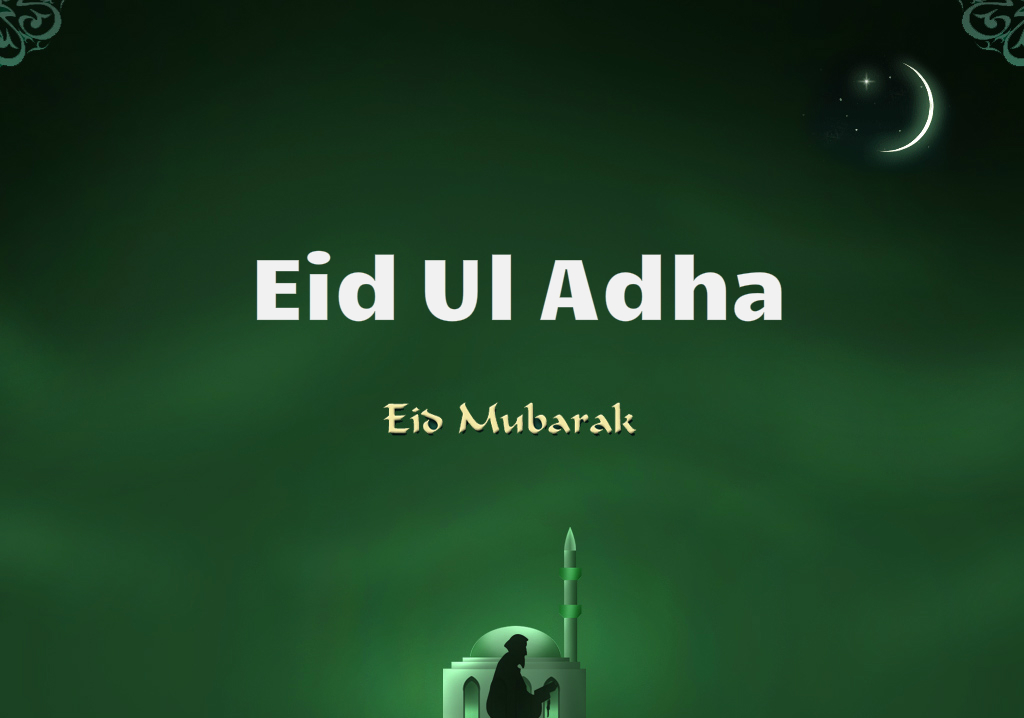 Eid Ul Adha Mubarak hd wallpaper