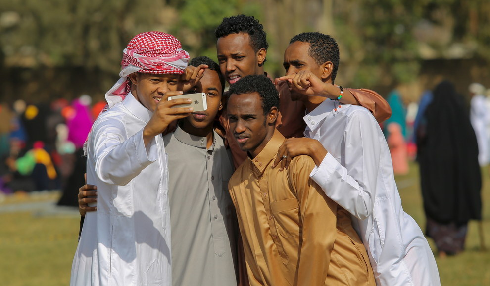 Eid Ul Fitr Celebration Kenya Capital Nairobi