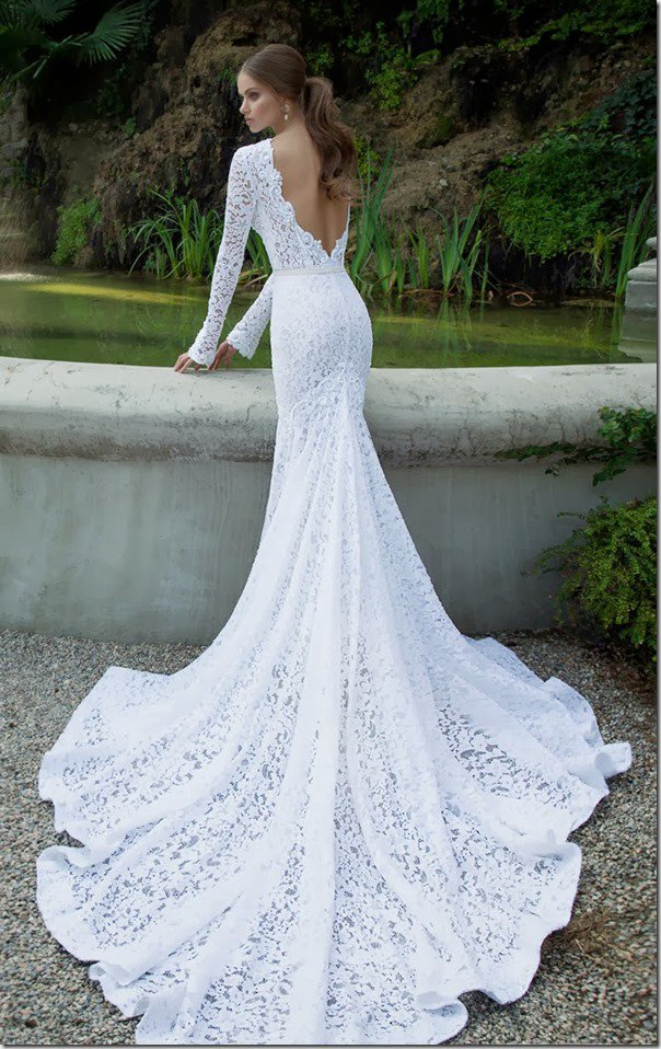 beautiful bridal wedding dress