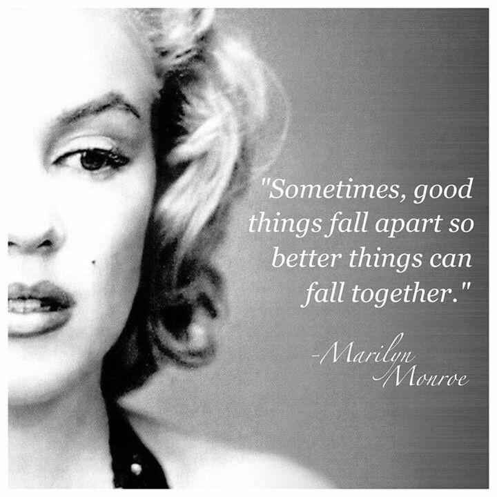 Marilyn Monroe Quotes Better Things Can Fall Together: 20 Famous Marilyn Monroe Quotes And Sayings