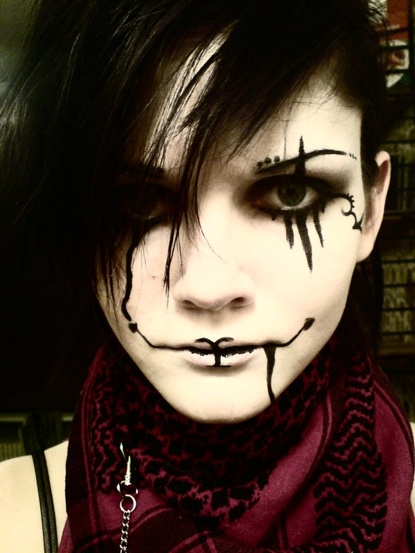 halloween makeup ideas clown makeup - Easy Scary Halloween Face Painting Ideas