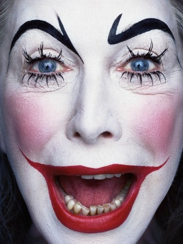 halloween makeup ideas- real clown