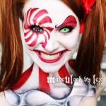 Scary Clown Face Paint Ideas For Halloween 2015