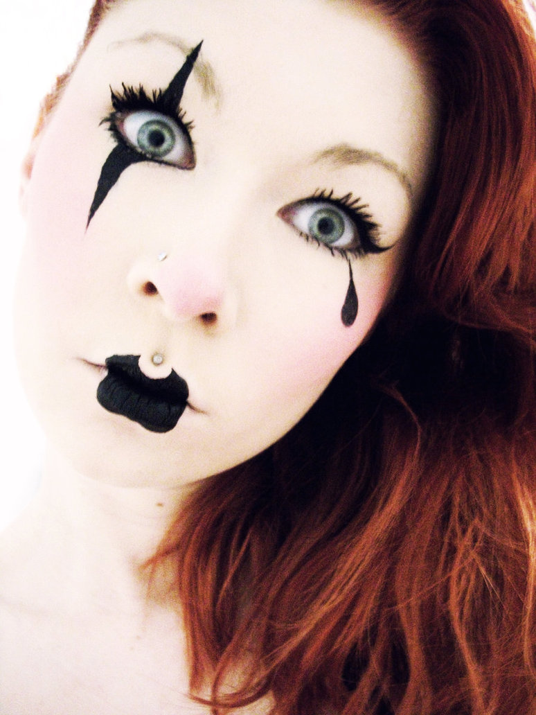halloween makeup ideas the clown lady