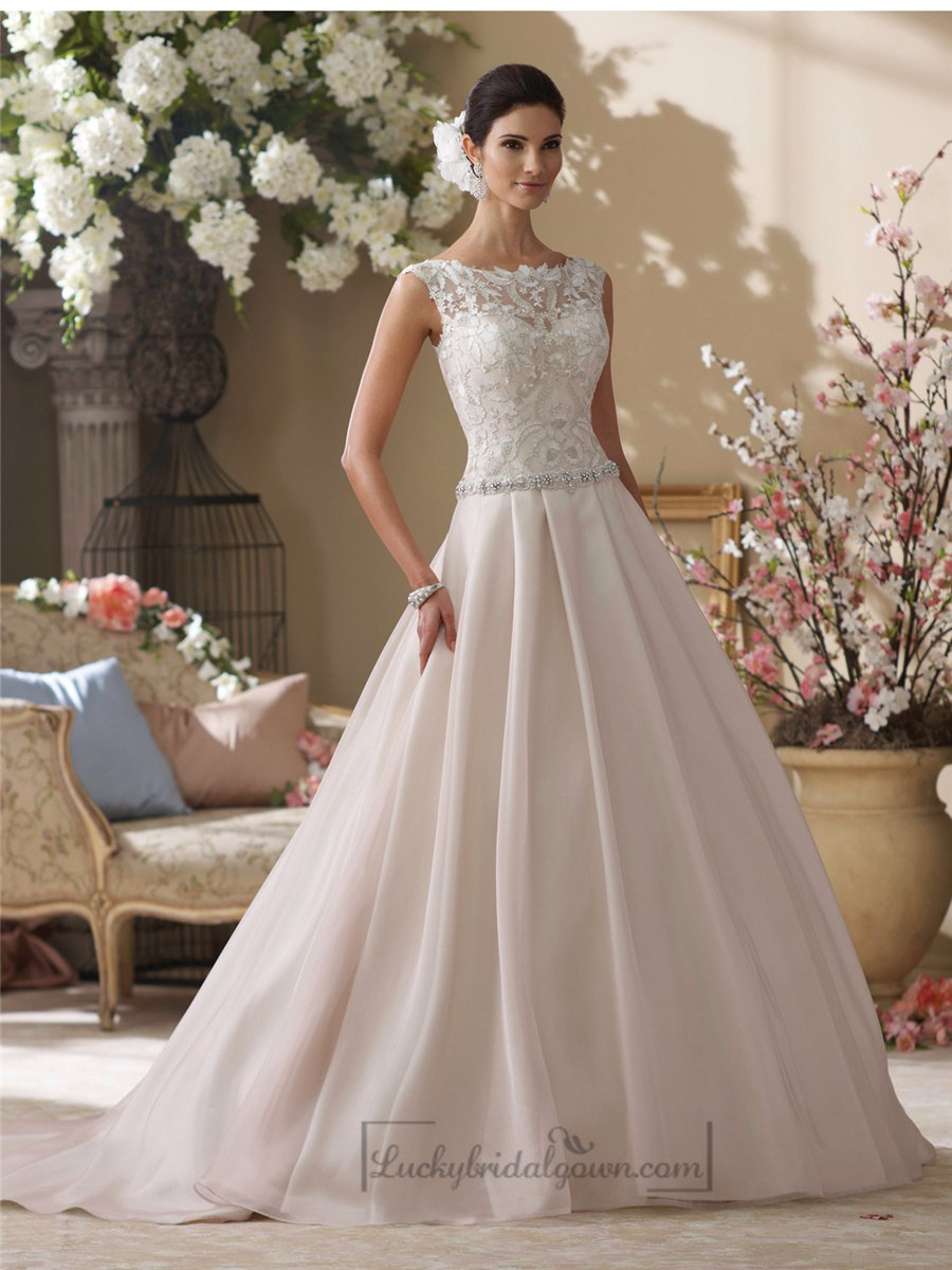 neckline wedding dresses