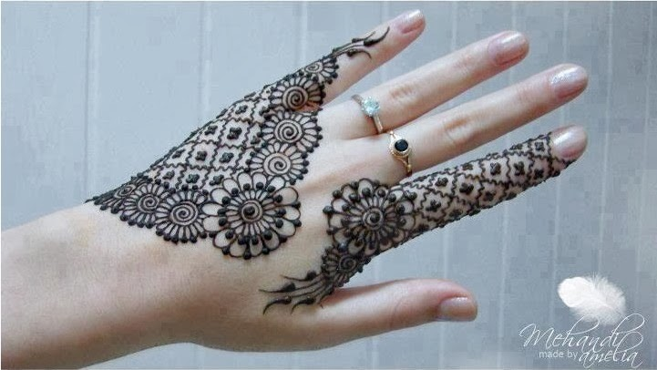 35+ New Easy and Simple Mehndi(Henna) Designs For Beginner ...