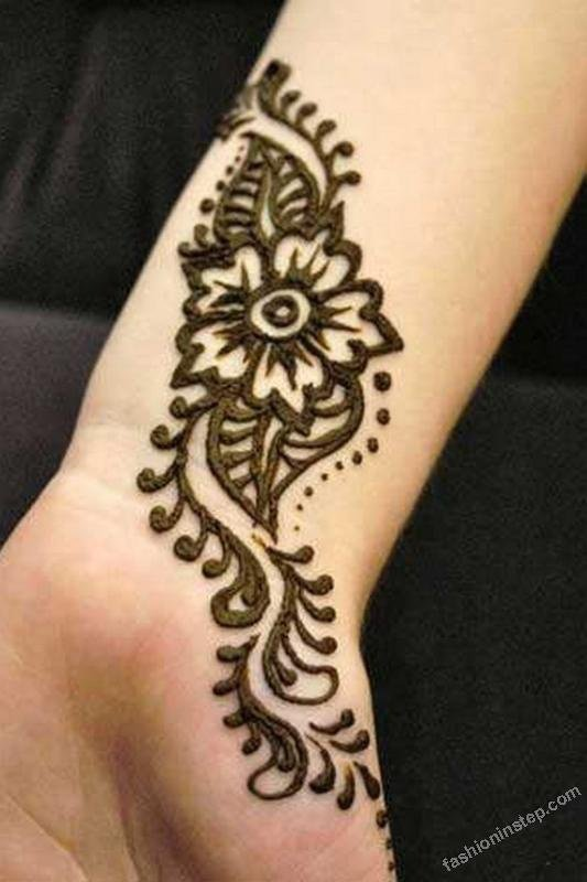 Mehndi Easy And Simple Design : New easy and simple mehndi henna designs for beginner