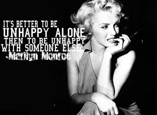 wise words of marilyn monroe
