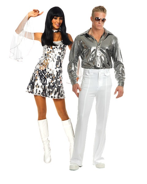 60s dazzle sexy costumes for couples