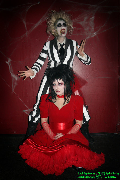 Beetlejuice Halloween costume for couples