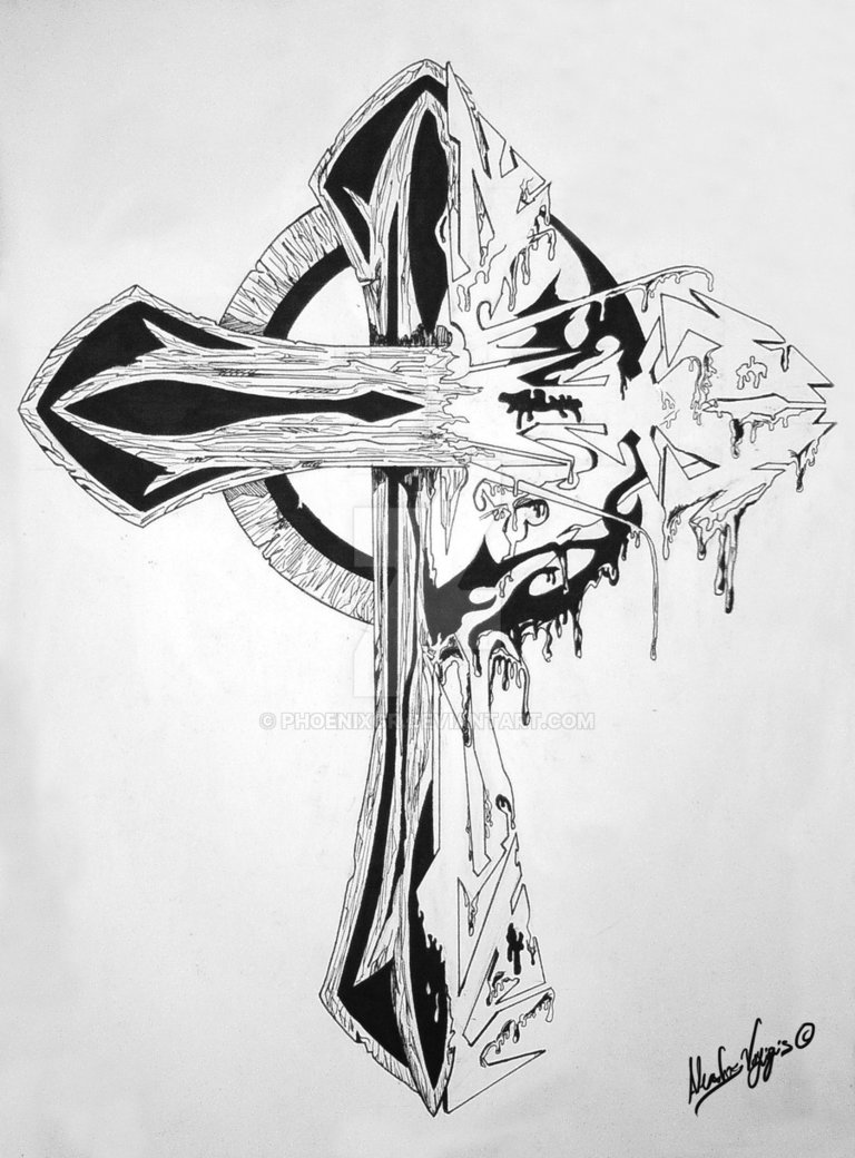 GothicCross-Tattoo