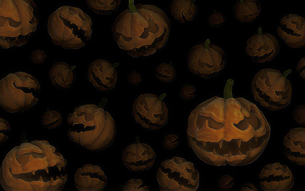 Halloween Pumpkins Wallpaper