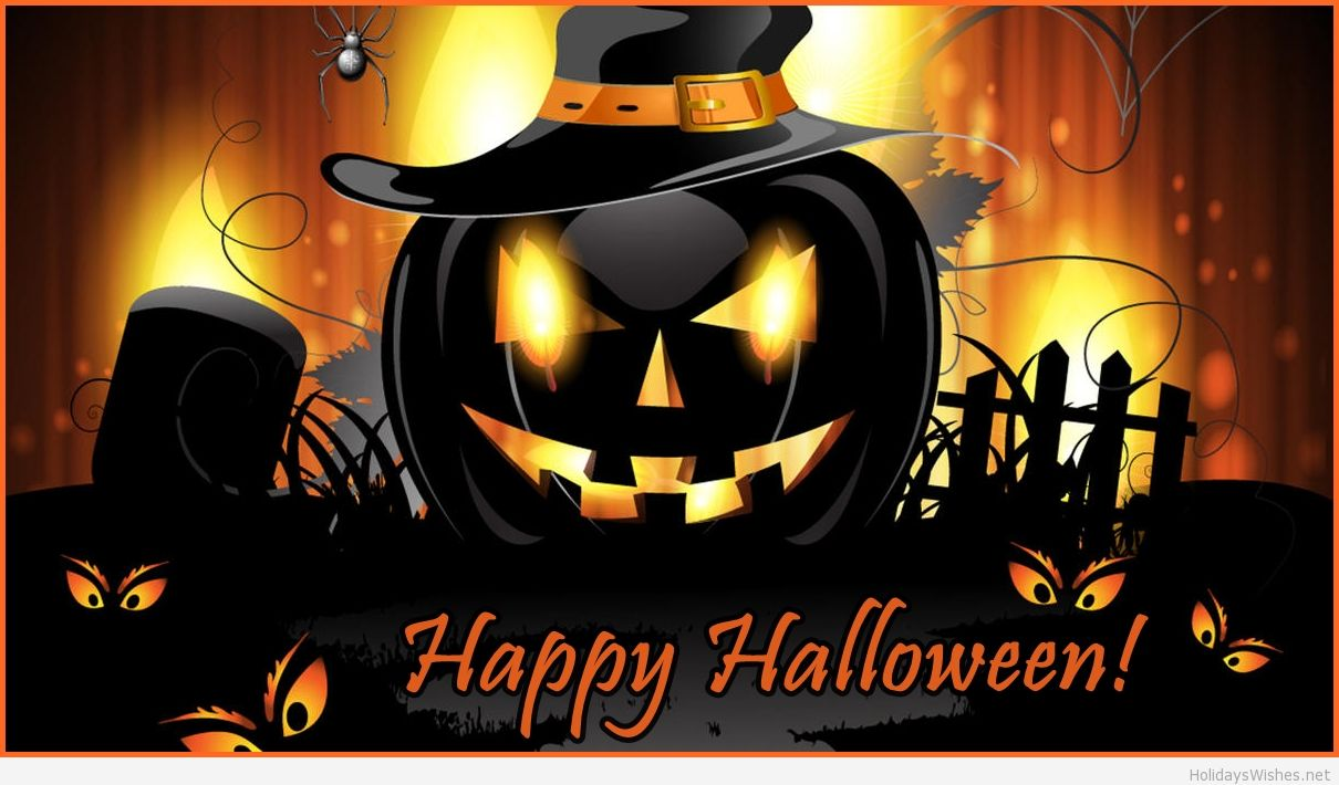 60 happy halloween images pictures and wallpapers - Scary halloween pumpkin wallpaper ...