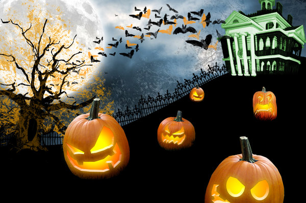 Scary Halloween desktop Wallpaper