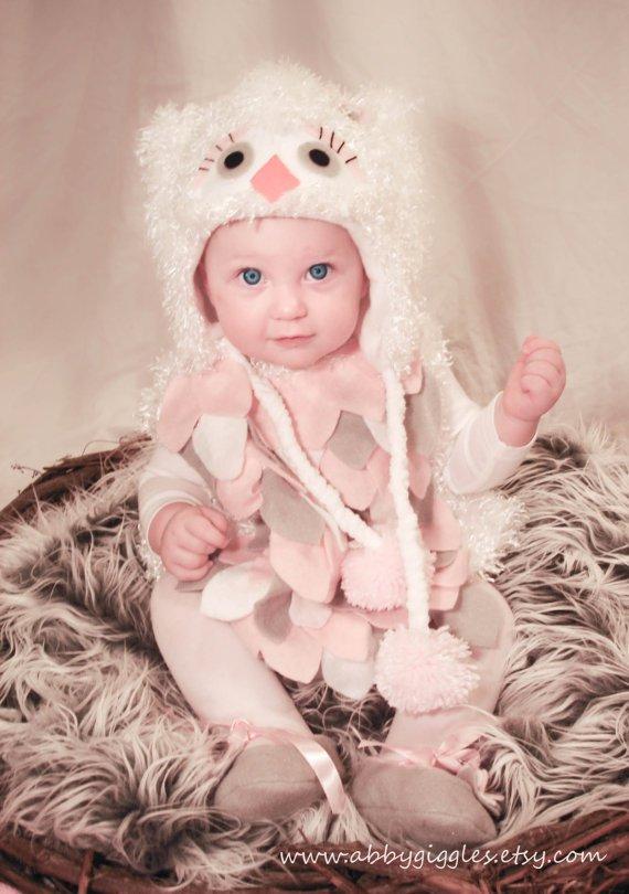 adorable owl costume for halloween