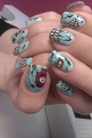 30 best spookyscary halloween nail art design ideas 2015