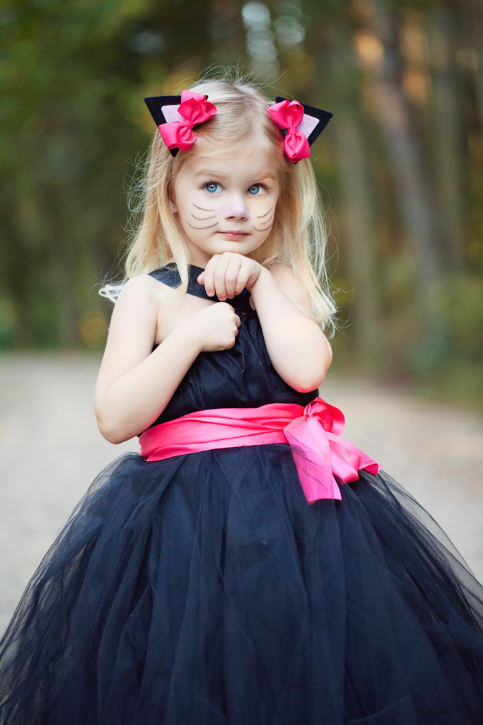 black cat halloween costume for girls - Little Girls Halloween Costume Ideas