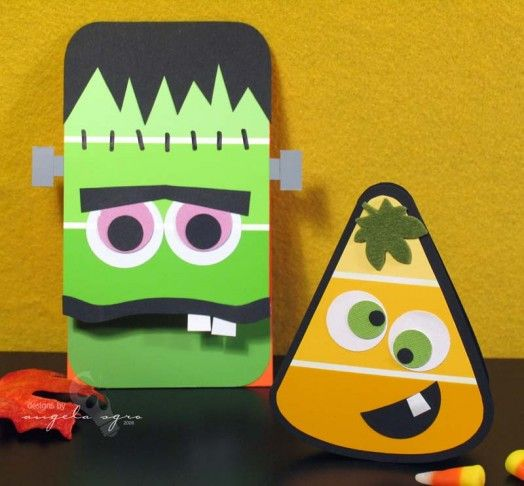 30 diy fun and easy halloween craft ideas for kids for Cool fun easy crafts