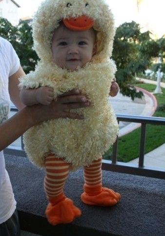 cute ducky baby halloween costume