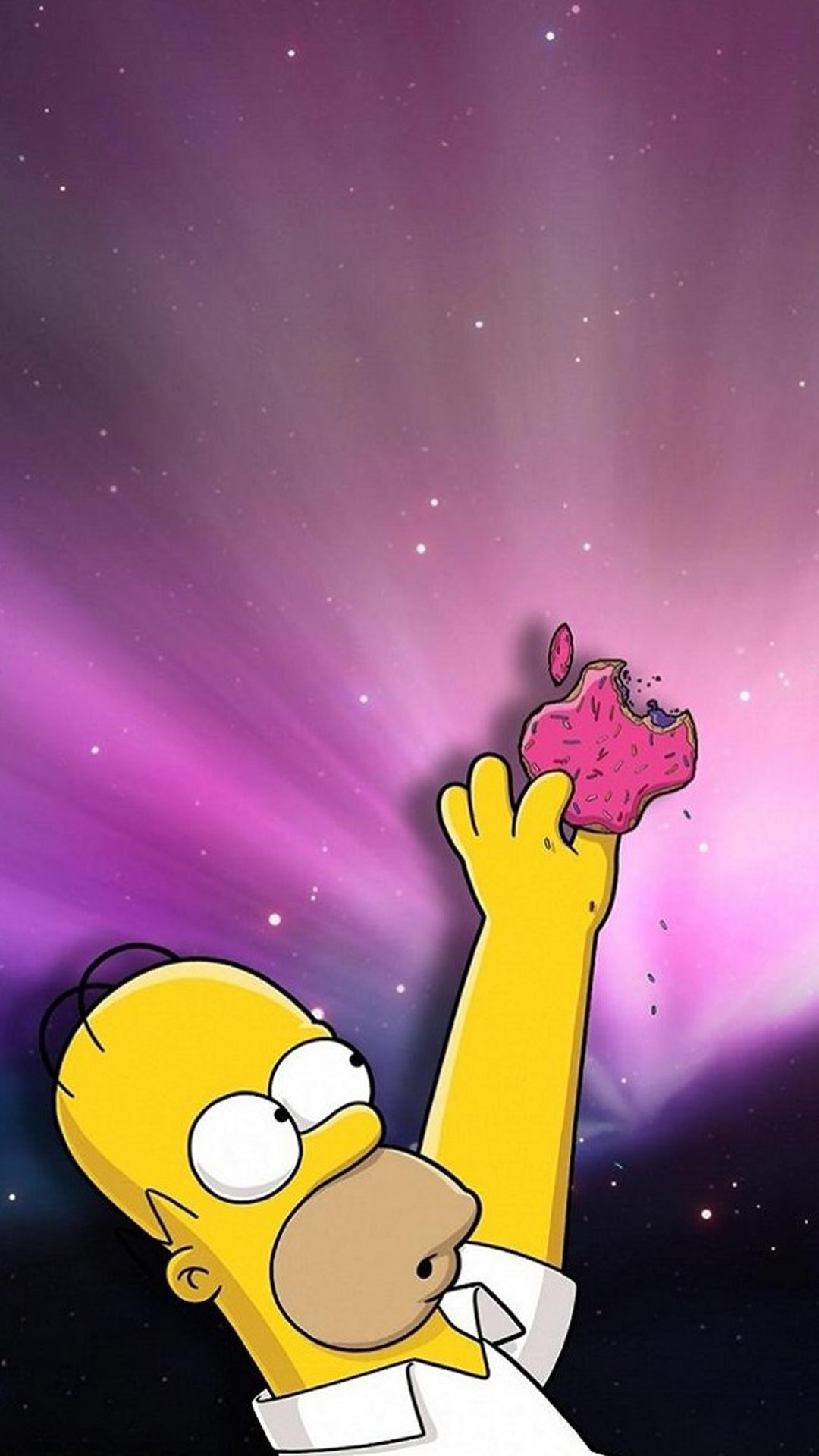 cute simpsons cartoon iphone wallpaper
